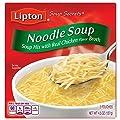 Lipton Soup Secrets Instant Soup Mix, Noodle 4.5 oz, Pack of 24