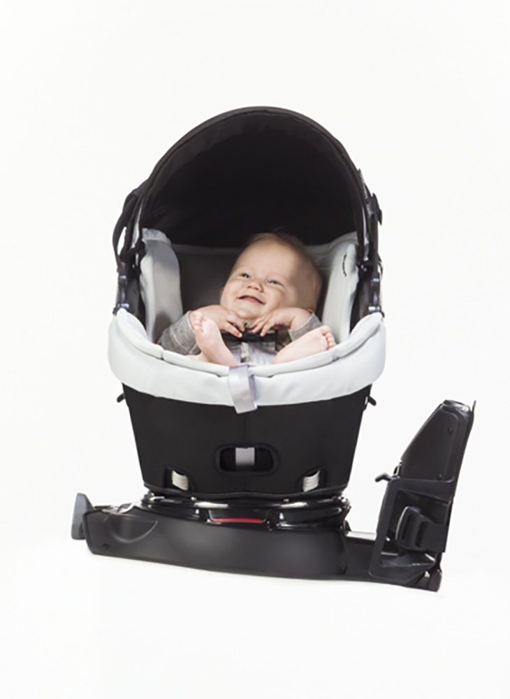 Amazon.com : Orbit Baby G3 Infant Car Seat Plus Base, Black : Rear