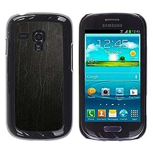 TopCaseStore / la caja del caucho duro de la cubierta de protección de la piel - Skin texture Wood - Samsung Galaxy S3 MINI NOT REGULAR! I8190 I8190N