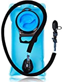 5 16 refrigerator tubing - Hydration Water Bladder Bag 2.0 Liter Pack - With Insulated Mouth Tube Valve - Best for Camping Hiking Climbing Outdoor Cycling and Running - Sports Backpack Reservoir System - Military & BPA Free