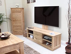 mobel oak wall mounted baumhaus mobel oak mounted widescreen television cabinet baumhaus mobel solid oak