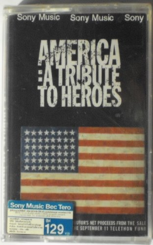 America A Tribute to Heroes Thai Cassette (Wonder Thai)