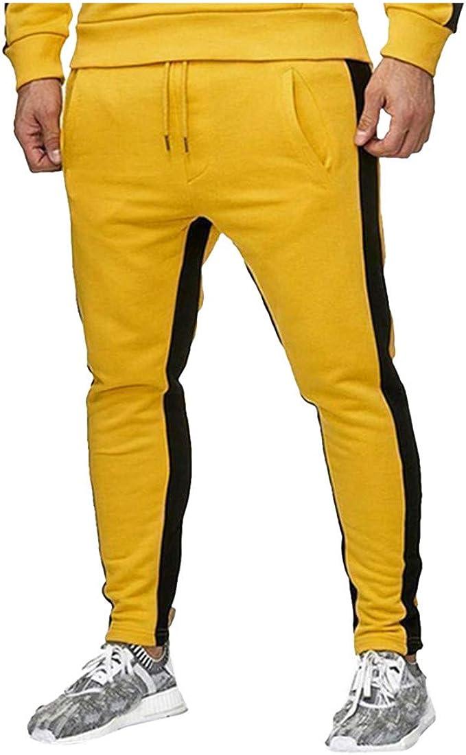beautyjourney Pantalones Deportivos de Jogging Pantalones de ...