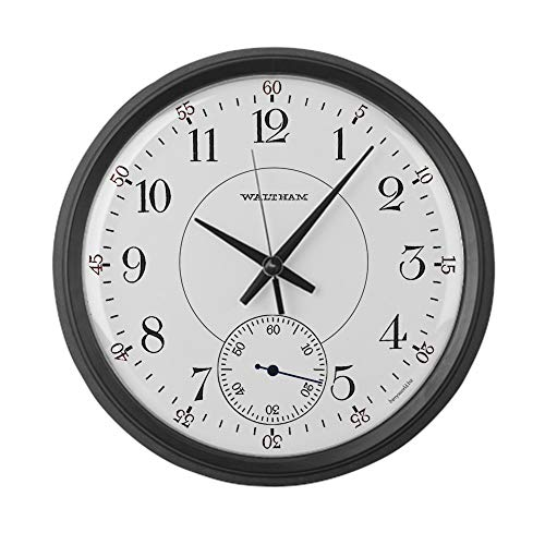 (CafePress Waltham Railroad Pocket Watch 1 Large 17