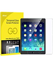 JETech US-0338-SP-IPADAIR-GLASS Screen Protector for iPad (9.7-inches, 2018/2017 Model), iPad Air 1, iPad Air 2, iPad Pro 9.7-inches, Tempered Glass Film, Clear