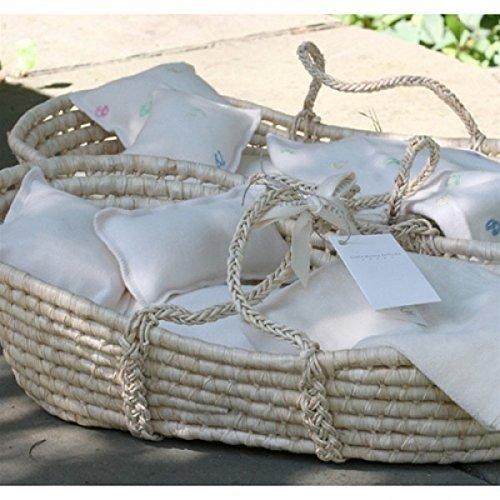 Organic Doll Bed - Moses Basket