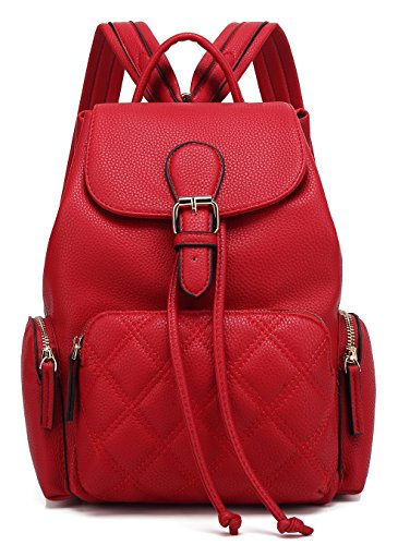 Scarleton Chic Casual Backpack H1608206210 - Red Q