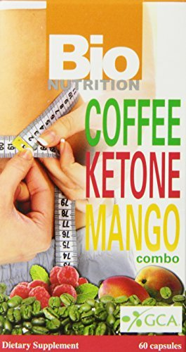 Bio Nutrition - Coffee Ketone Mango Weight Loss Combo - 60 Capsules by Bio Nutrition