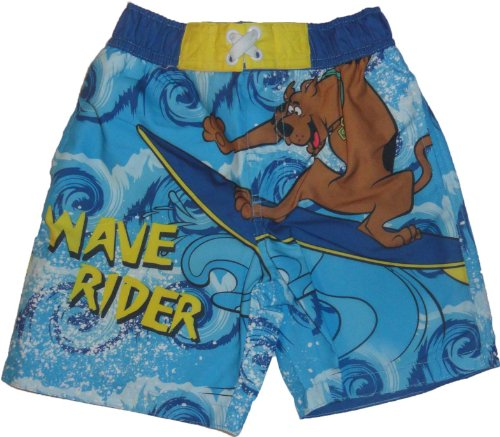 Scooby Doo Baby-Boys Swim Trunks Wave Rider Board Shorts 4T