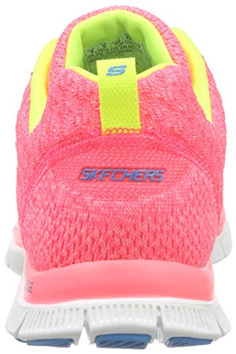Pkyl Skechers Zapatillas Mujer Pink Deporte Appeal para de Flex Simply Rosa Sweet xfPqTHw