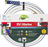 Swan Products ELMRV12050 Element RV & Marine Camping and Boating Water Hose 50' x 1/2', White