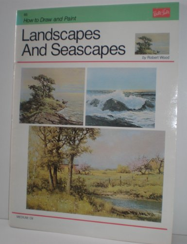 Landscapes and Seascapes HT-66, How to Draw and Paint Series