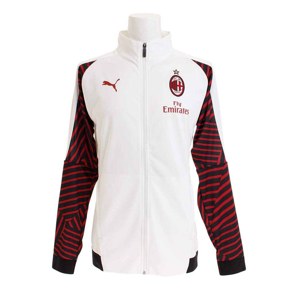Puma Herren Ac Milan Stadium Jacket with Sponsor Jacke