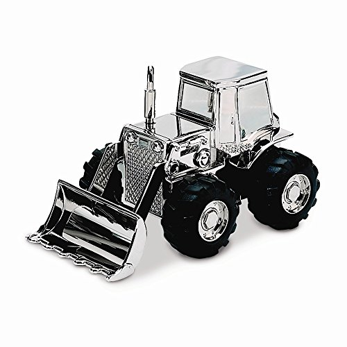 (Perfect Jewelry Gift Nickel-plated Front Loader Bank )