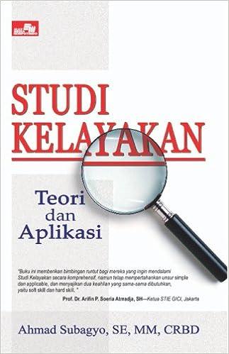 Studi Kelayakan Teori Dan Aplikasi Indonesian Edition Ahmad