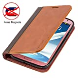 Mulbess Leather Phone Case for Samsung Galaxy