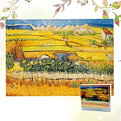 NUOBESTY Rural Field Paper Puzzle 500 Pieces Jigsaw Puzzles for Adults: Toys & Games