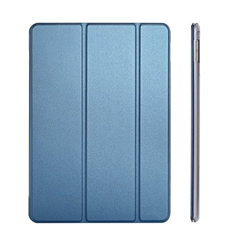iPad Mini 3 Case Cover, iPad Mini 2 Case, Dyasge iPad Mini Smart Case Cover with Magnetic Auto Wake & Sleep Feature and Tri-fold Stand for Apple iPad Mini 1/2/3 Tablet (Not for mini 4),Navy Blue