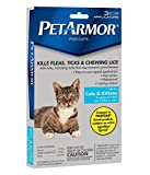 PetArmor Flea & Tick Treatment for Cats, 1.5 lbs or over, 3 ct