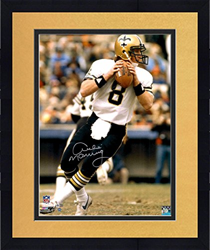 Framed Archie Manning New Orleans Saints - New Orleans Saints Throwing Shopping Results