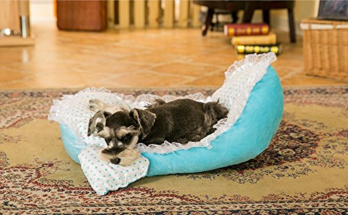AIDELAI Princess bed pet supplies kennel Teddy fossa cat lit