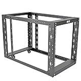 Tripp Lite 12U 4-Post Open Frame Rack Server Cabinet Floor Standing 36'' Depth (SR12UBEXPNDKD)
