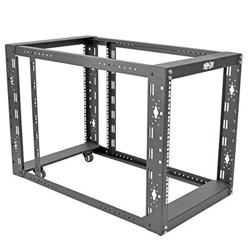 (Tripp Lite 12U 4-Post Open Frame Rack Server Cabinet Floor Standing 36
