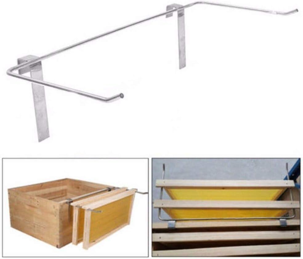 DIYARTS Stainless Steel Beekeeping Shelf Fixed Frame Beehive High Side Installation Tool Beehive Beekeeping Rack Apiculture Bee Tools