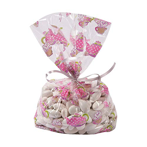 Fun Express Tea Party Cello Bags (1 Dozen)