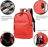 "Backpack w/USB Charging Port Fits Under 15"" Laptop"