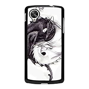 Google Nexus 5 Mobile Case,Creative Fashion Dinosaur Pattern Premium Custom Flexible Phone Case for Google Nexus 5