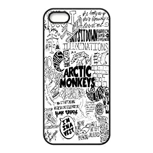 High quality Arctic Monkey band, Arctic Monkey logo, Rock band music protective case cover For Iphone 4 4S case cover LHSB9718539