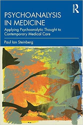 Psychoanalysis In Medicine 9780367144067 Medicine Health Science Books Amazon Com