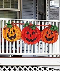 1 X Halloween Pumpkin Bunting