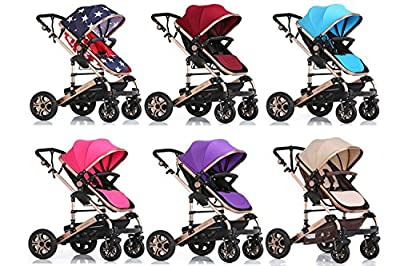 3 in 1 Portable Baby Stroller Travel System Multi-Functio, 6 color by Kissemoji that we recomend personally.