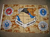 Operation Iraqi Freedom Service Banner Flag 3X5 Ft
