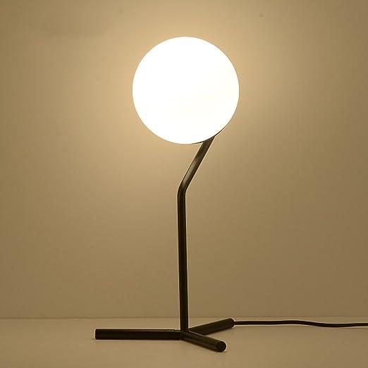 Baoduohui Lámpara de Mesa de Cristal, lámpara de Escritorio de la ...