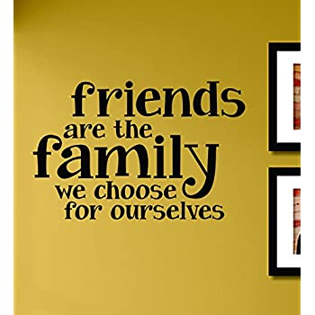 com friends are the family we choose for ourselves vinyl