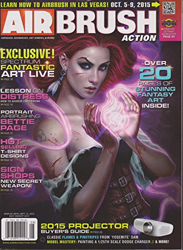 Magazine Action Airbrush - Air Brush Action Magazine July/August 2015