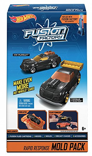 Hot Wheels Fusion Factory Molding Pack 1 Rapid Response Matt