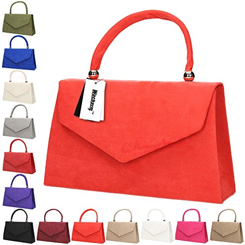 velvet Prom Womens Clutch party Bag 1 Bridal Folds Suede Evening Ladies Handbag Shoulder Bag Wocharm Clutch Khaki AFHxnx