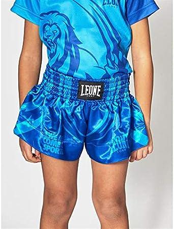 Leone Pantalones Cortos Muay Thai Kick Boxing Para Nino Mascot Abj04 Turquesa M Amazon Es Deportes Y Aire Libre