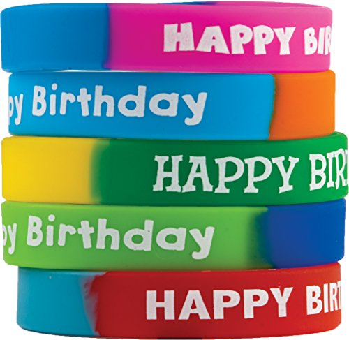 Teacher Created Resources Fancy Happy Birthday Wristbands (6571)