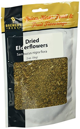 Brewer's Best Brewing Herb's and Spices - Dried Elderflowers, 2 (Elder Flower Extract)