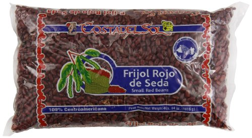 CostadelSol Frijol Rojo de Seda Red Beans, 4 Pound
