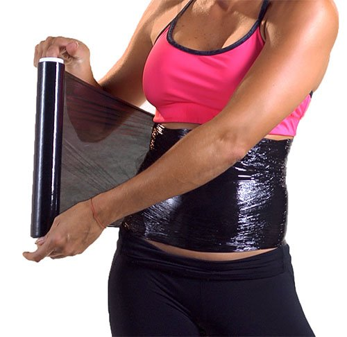 - 3 Osmotic Plastic Body Wrap Paper Cellulite Waist Burning Fat Speed Up Process 60m