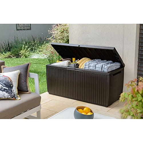 Denali 100 Gallon Resin Deck Box Expert Choice For Outdoor