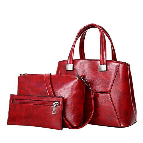 NOTAG , Sac pour femme à porter à l'épaule Red