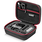 Neewer® NW100 7x5.5x3 inch/18x14x7cm Small EVA Shockproof Case with buckle for GoPro Hero 4/3+/3/2/1 SJ4000 SJ5000 Xiaomi Yi and Accessories - Travel & Household Case with Excellent Cut Foam Interior - Perfect Protection for Gopro Camera-Black