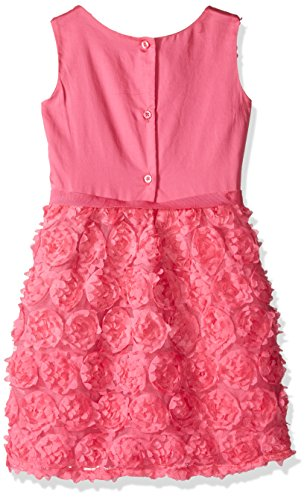 The Children's Place Little Girls and Toddler Sleeveless Ruffle Dress, Tropical Rose, 2T
